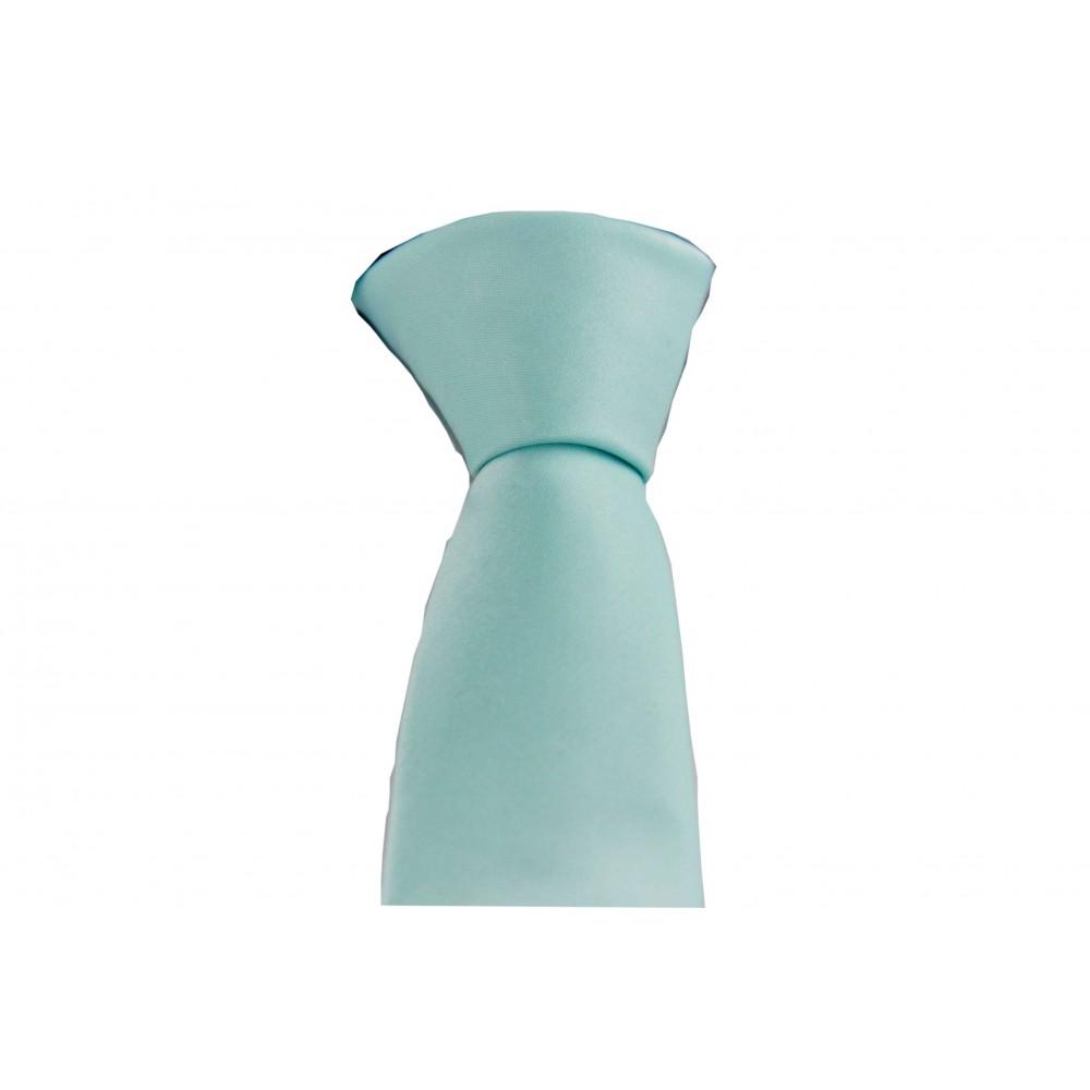 Brianze Su Yeşili Slim Fit Dupont Kravat DK-7