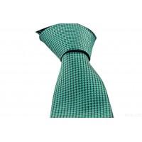 Brianze Yeşil Desenli Mendilli Kravat MKL-1