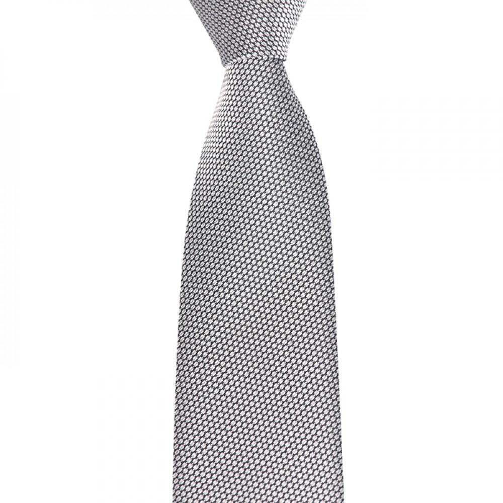 Brianze Açık Gri Mendilli Kravat