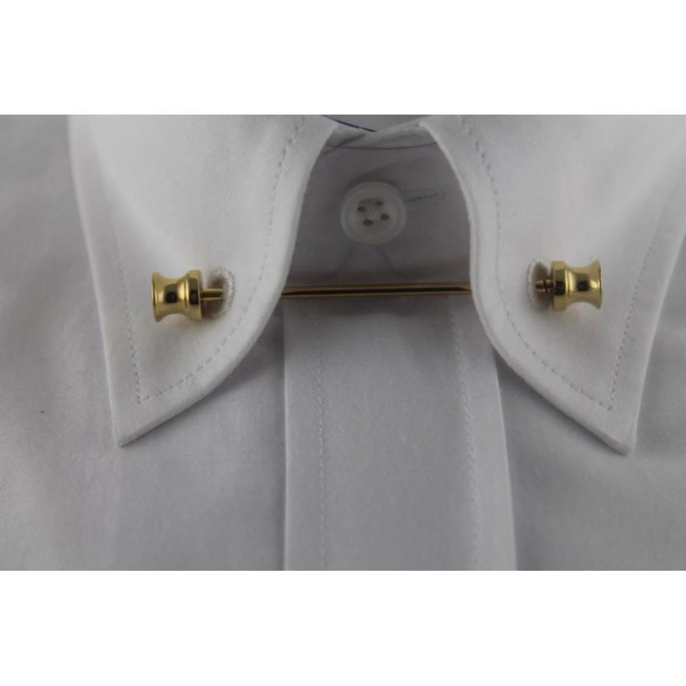 Brianze Altın Sarısı Gömlek Yaka İğnesi GY-2