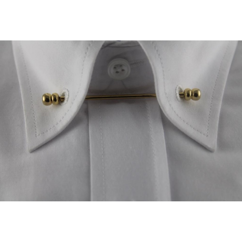 Brianze Altın Sarısı Gömlek Yaka İğnesi GY-7