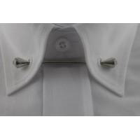 Brianze Gümüş Rengi Taşlı Gömlek Yaka İğnesi GY-12