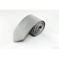 Brianze Kırık Beyaz Desenli Mendilli Kravat MKM-5