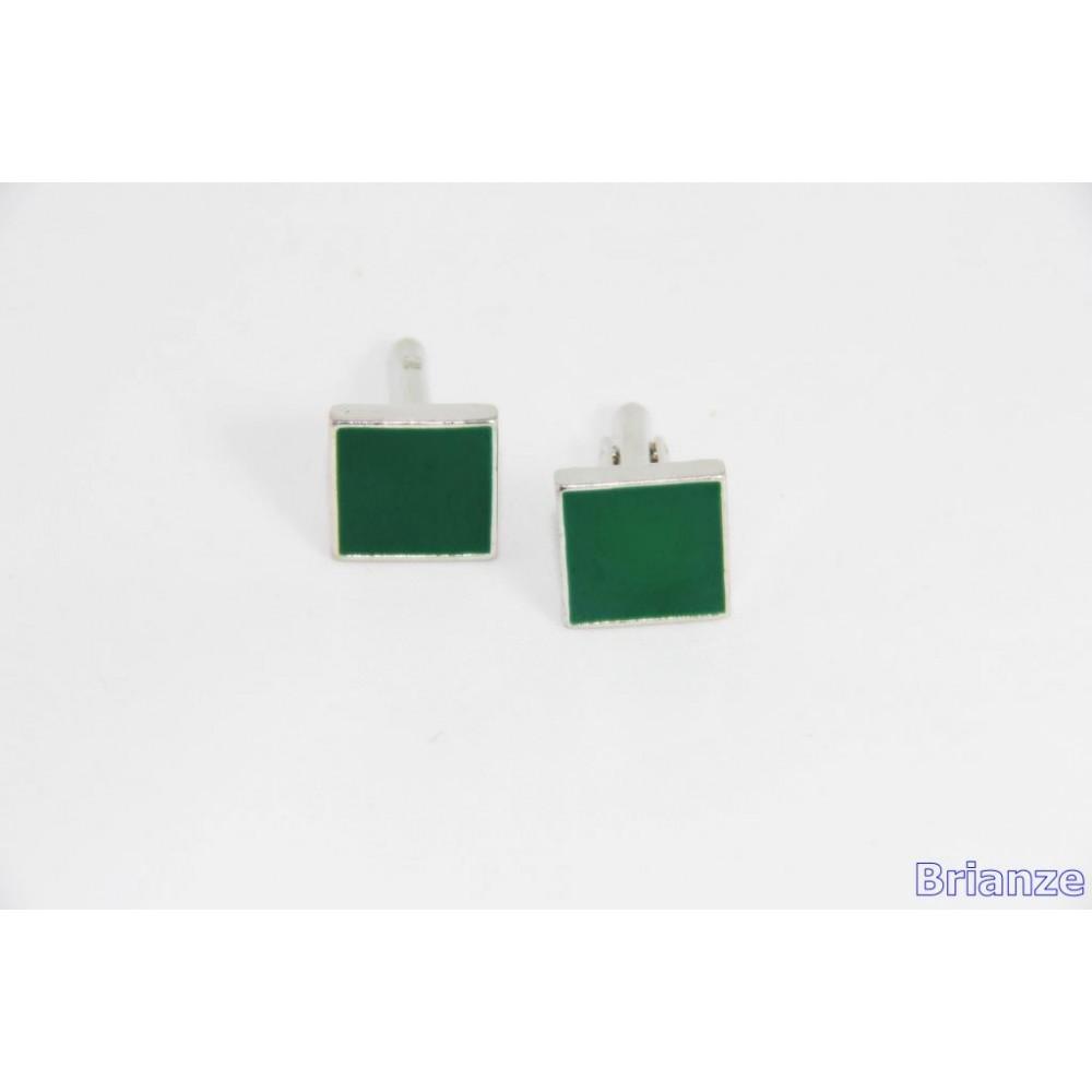 Brianze Koyu Yeşil Kol Düğmesi KD-12