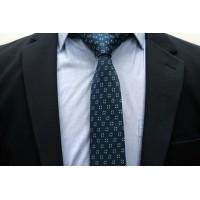 Brianze Yeşil Desenli Kravat