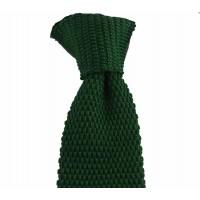 Brianze Yeşil Renk Örgü Kravat OK-14