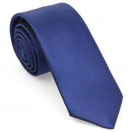 Saks Mavi Oxford Model Mendilli Kravat-Brianze MKAS-7