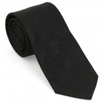 Siyah Geometrik Desen Mendilli Kravat-Brianze MKAP-7